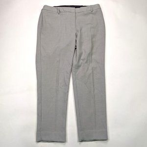 Talbots Hampshire Ankle Plus Size 14W Gray Pants
